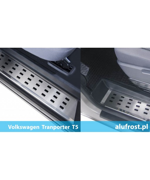 SET Footplates Volkswagen Transporter T5 (FRONT, REAR)