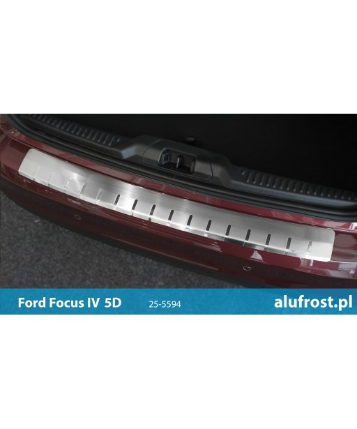 Rear bumper protector FORD FOCUS IV 5D