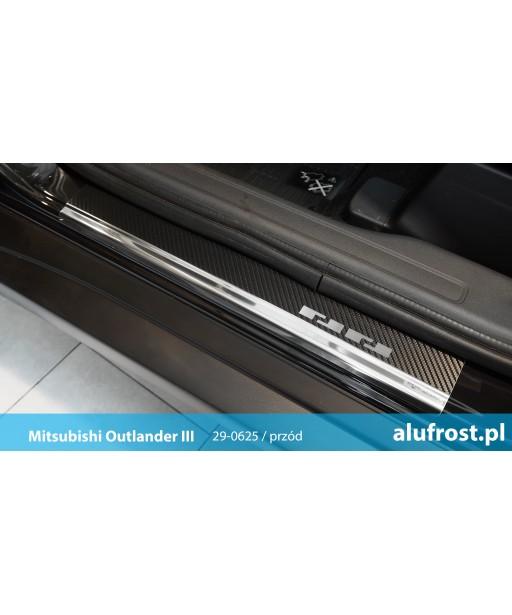 Door sills + carbon foil MITSUBISHI OUTLANDER III