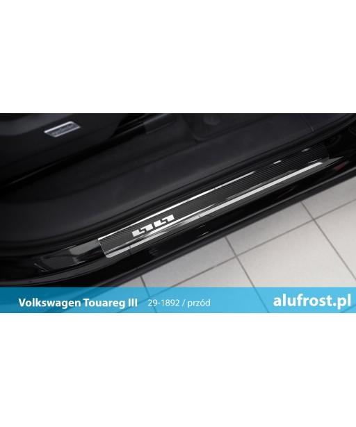 Door sills + carbon foil VOLKSWAGEN TOUAREG III