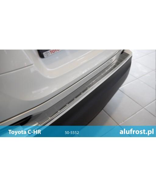 Rear bumper protector (inox) TOYOTA C-HR