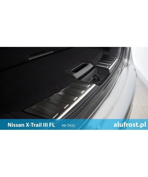 Ladekantenschutz innen aus Edelstahl NISSAN X-TRAIL III (T32) FL