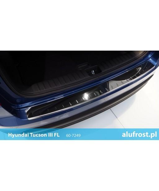 Rear bumper protector (mirror) HYUNDAI TUCSON III FL