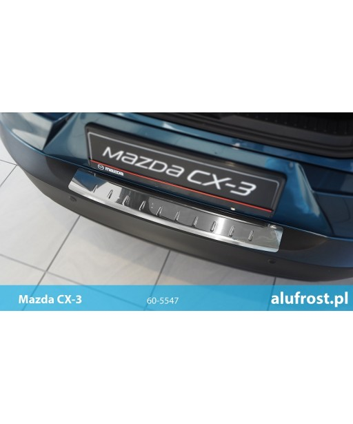 Rear bumper protector (mirror) MAZDA CX-3