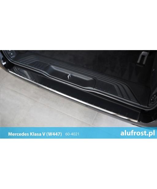 Rear bumper protector (mirror) MERCEDES V-CLASS (W447)