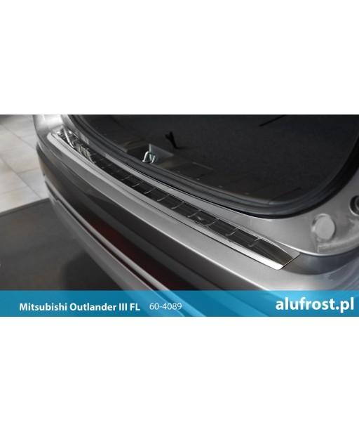 Rear bumper protector (mirror) MITSUBISHI OUTLANDER III FL