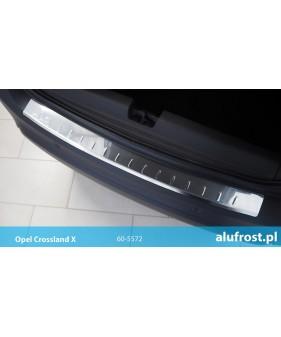 Płaska nakładka na zderzak (stal) OPEL ASTRA III H 5D