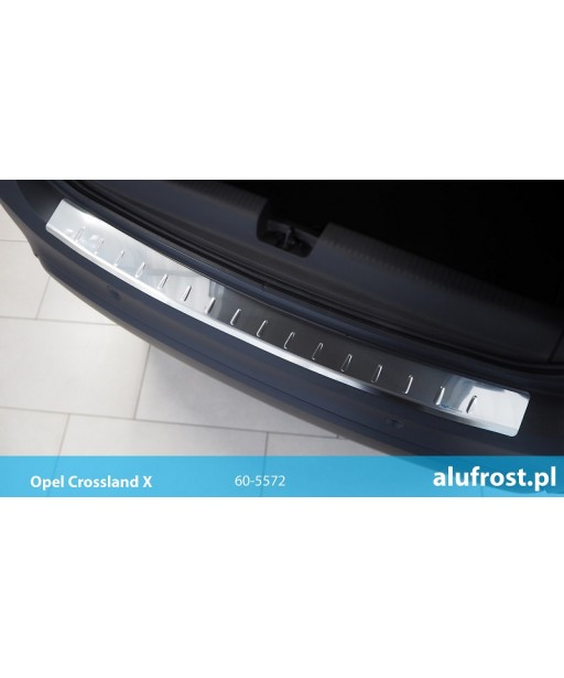 Rear bumper protector (mirror) OPEL CROSSLAND X