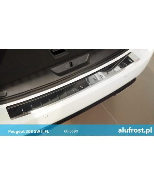 Rear bumper protector (mirror) PEUGEOT 308 II SW FL