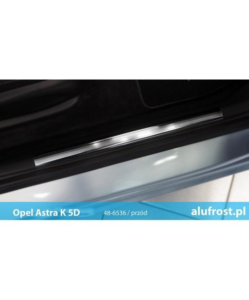 Interior door sills OPEL ASTRA V K 5D