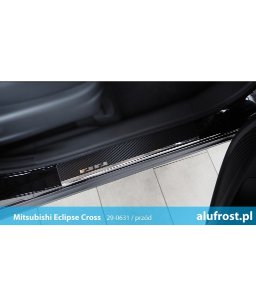 Door sills + carbon foil MITSUBISHI ECLIPSE CROSS