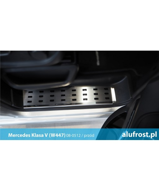 Footplates (steel, front) MERCEDES V-CLASS (W447)