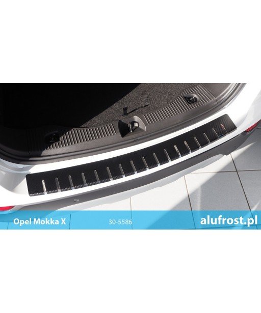 Rear bumper protector + carbon foil MOKKA X