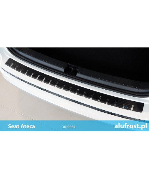 Rear bumper protector + carbon foil SEAT ATECA
