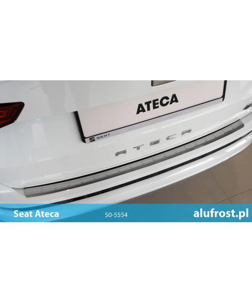 Rear bumper protector (inox) SEAT ATECA