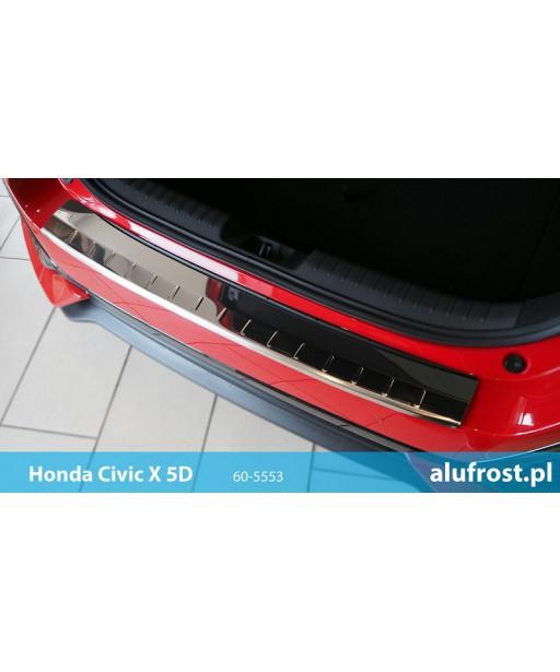 Rear bumper protector (mirror) HONDA CIVIC X 5D