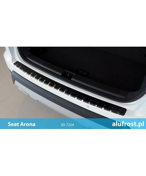 Rear bumper protector + carbon foil SEAT ARONA