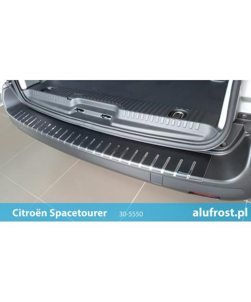 Rear bumper protector + carbon foil CITROËN SPACETOURER