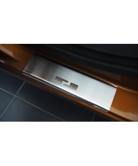 Nakładki na słupki drzwi (aluminium) OPEL CORSA D 5D