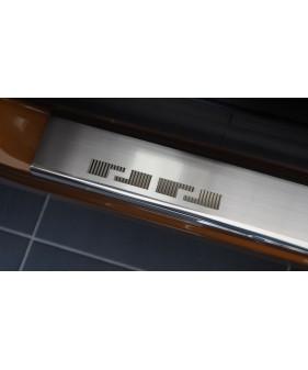 Nakładki na słupki drzwi (aluminium) HONDA CIVIC IX 5D | KOMBI