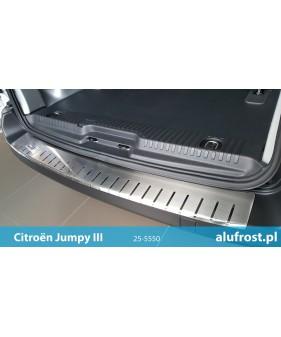AUDI A4 (B8) KOMBI Tłoczona nakładka z zagięciem na zderzak (stal)