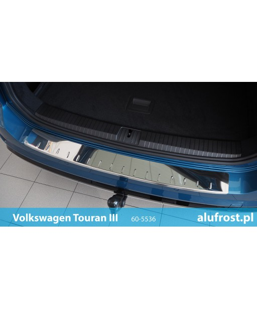 Rear bumper protector (mirror) VOLKSWAGEN TOURAN III