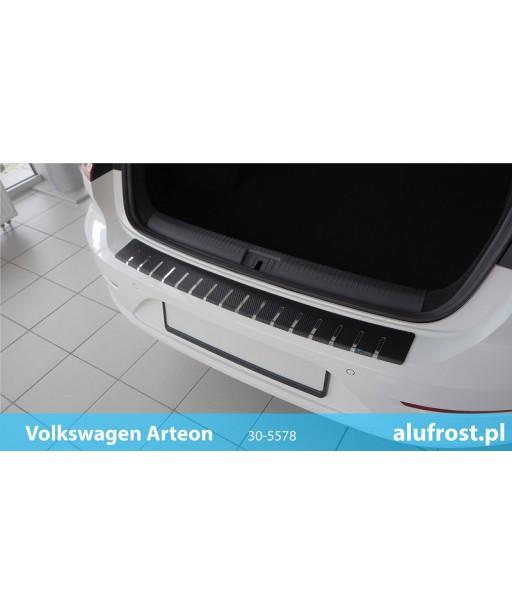 Rear bumper protector + carbon foil VOLKSWAGEN CRAFTER II