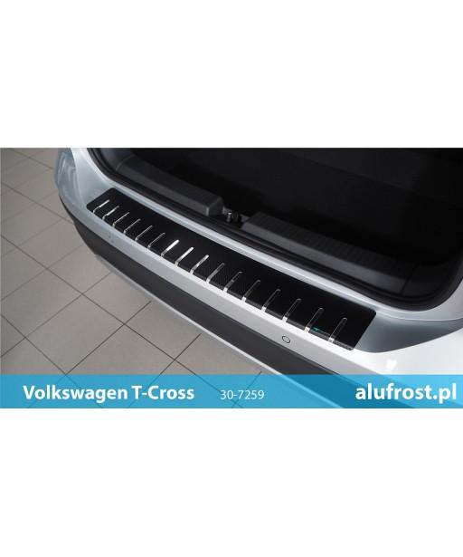 Rear bumper protector + carbon foil VOLKSWAGEN T-CROSS