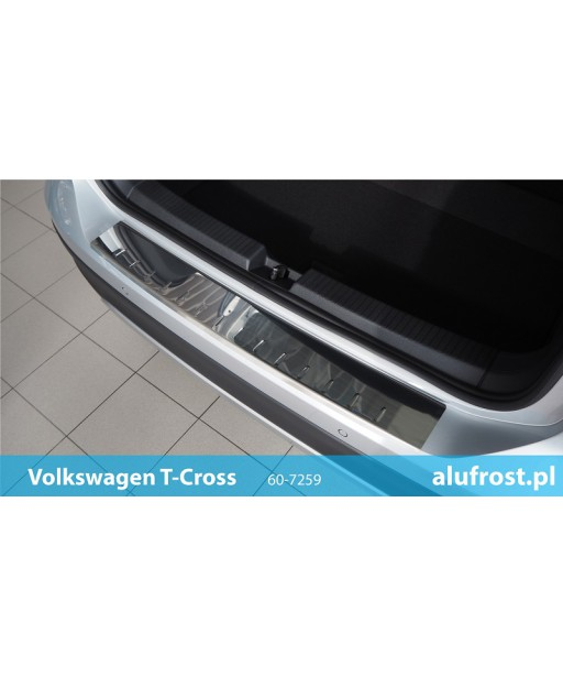 Rear bumper protector (mirror) VOLKSWAGEN T-CROSS