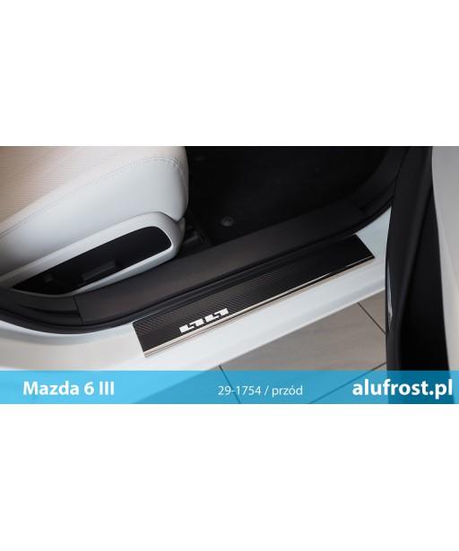 Door sills + carbon foil MAZDA 6 III
