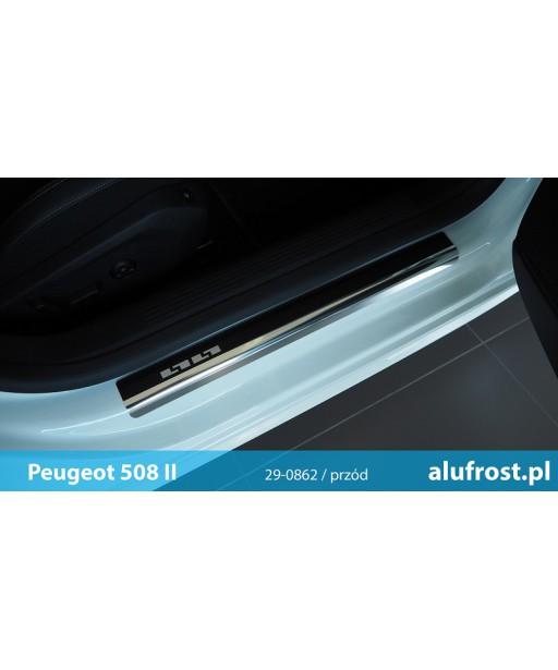 Door sills + carbon foil PEUGEOT 508 II