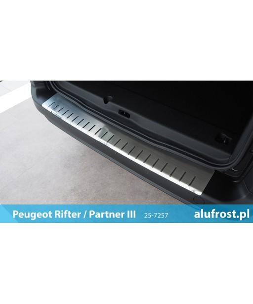 Rear bumper protector PEUGEOT RIFTER / PARTNER III