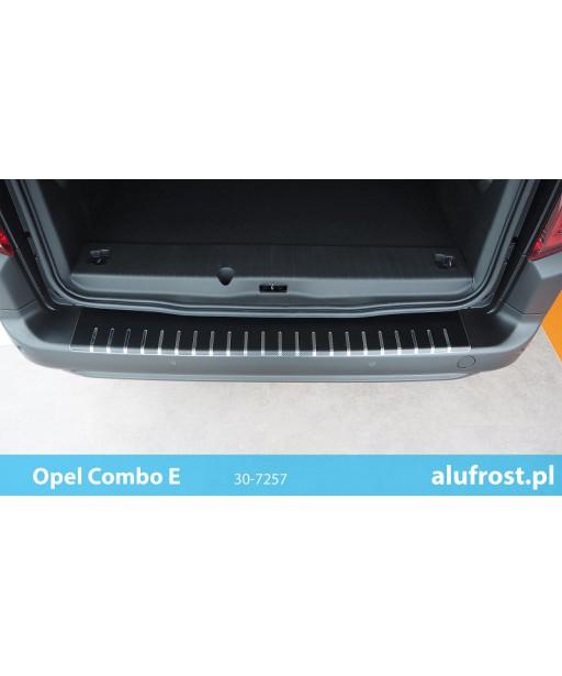 Rear bumper protector + carbon foil OPEL COMBO E