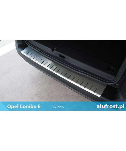 Rear bumper protector OPEL COMBO E