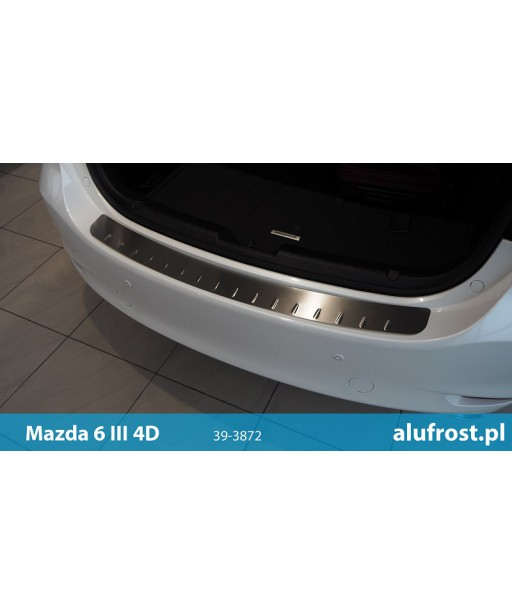 Rear bumper protector MAZDA 6 III 4D
