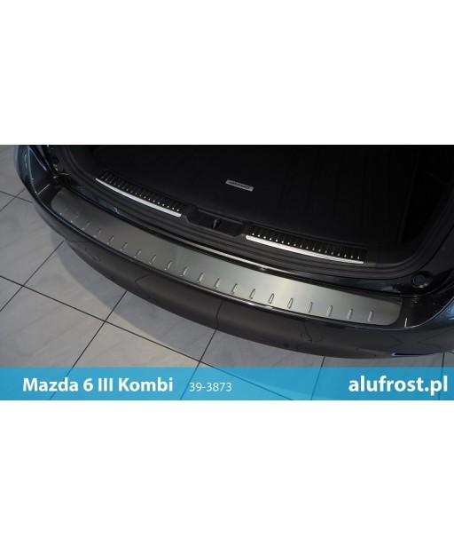 Rear bumper protector MAZDA 6 III KOMBI