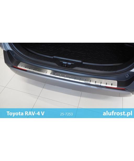 Rear bumper protector TOYOTA RAV-4 V