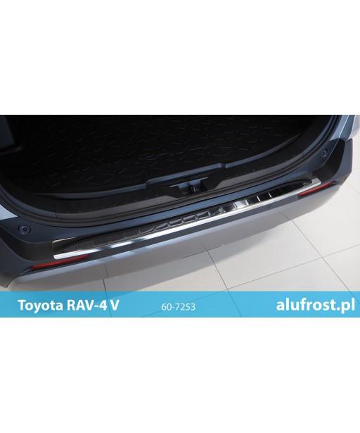 Rear bumper protector (mirror) TOYOTA RAV-4 V
