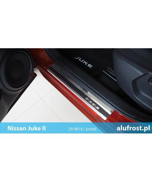 Door sills + carbon foil NISSAN JUKE II