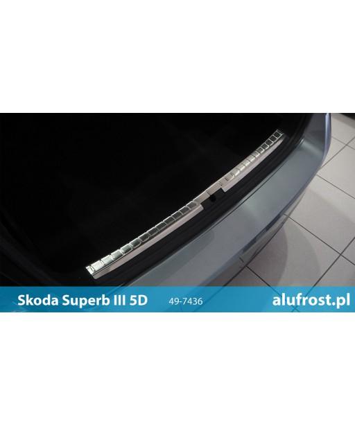 Nakładka na próg bagażnika SKODA SUPERB III 5D