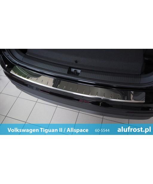 Rear bumper protector (mirror) VOLKSWAGEN TIGUAN II / TIGUAN ALLSPACE