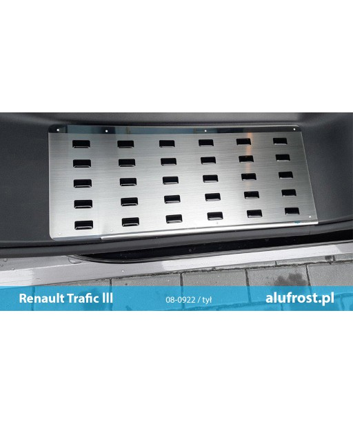 Footplates (steel, rear, right) RENAULT TRAFIC III
