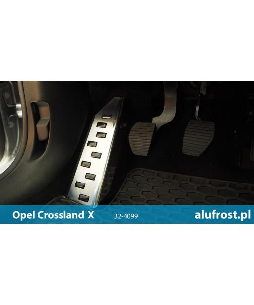 Left foot rest plate OPEL CROSSLAND X