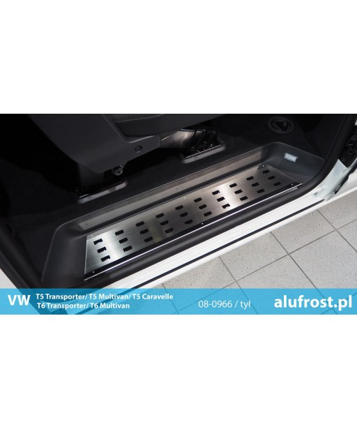 Footplates (steel, rear) VW T5 TRANSPORTER / MULTIVAN / CARAVELLE | T6 TRANSPORTER / MULTIVAN