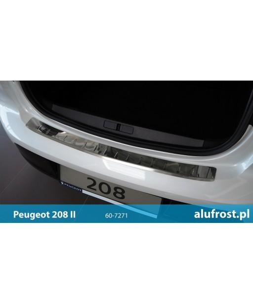 Rear bumper protector (mirror) PEUGEOT 208 II